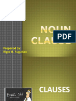 Noun clause functions  (2)