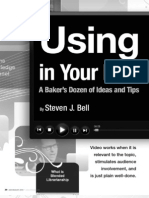 Using Videos in Your Next Presentation