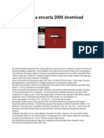 Enciclopédia Encarta 2000 Download