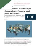 Bncc Entenda a Construcao Dos Curriculos e Como Voce Pode Participar