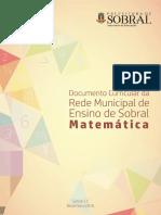 Documento Curricular de Sobral_Matemática