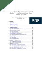 Math Model