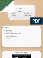Laser Ruby