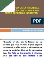 Acosta - Congreso Derecho Civil