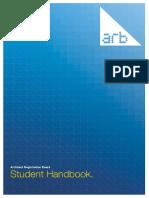 ARB Student Handbook