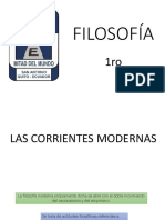 2 - Las Corrientes Modernas