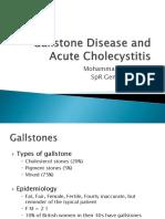 Gallstone Disease and Acute Cholecystiti