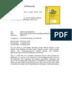 Ejercicio Físico, Especies de Oxígeno Reactivo y Neuroprotección