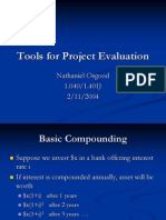 5242606 Mit 3 Tools for Project Evaluation