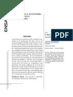 Alternancia y Autonomia en El Constexto Universitario Art13