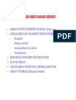 Linear and Planar Arrays (2)