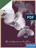 La Inteligencia de Las Flores - Maurice Maeterlinck