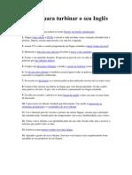 14 dicas para turbinar o seu Inglês