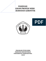Buku Panduan Praktik Profesi Gerontik