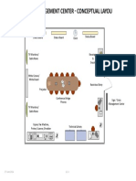 Crisis Management System Room Layout