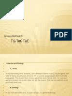 Rassias Method ®-TIC TAC TOE