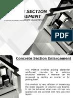 Concrete Section Enlargement