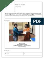 Project Fair Report Format