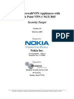 Nokia Firewall VPN Appliances