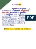 OREGANO-SOVIRF=NU - (L)