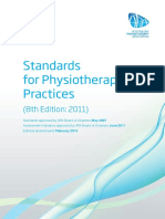 Resources Private Practice Standards for Physiotherapy Practices 2011