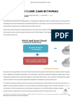 Extend Oracle Cloud SaaS With PaaS - SOAIS