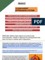 Module 6 - Design of Clean Agent