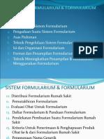 Materi Kuliah Sistem Formularium & Formularium Unjani, Unpad,Itb