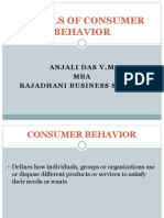 Different Models of Consumer Behavior