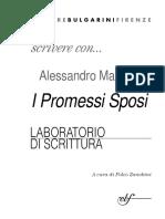 - Scrivere con Alessandro Manzoni. I Promessi Sposi. Laboratorio di scrittura .pdf