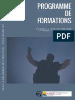 Programme de Formations Professionnelles UDAM33 2018