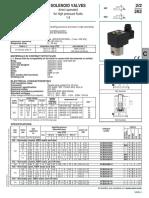 Solenoid Valves 2_2 Stainless Steel Body 262 CAT 00032GB