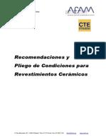 AFAM_Recomendaciones y Pliego de Condiciones para Revestimientos Cerámicos.pdf