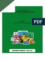 Sadc Traffic Signs - Volume 3