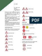 Urban Signs and Symbols Handout. Arpl II