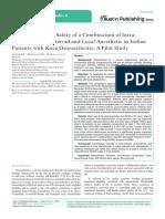 Austin Journal of Orthopedics & Rheumatology