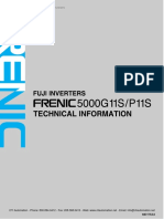 Fuji Frenic 5000g11s p11s Technical Manual