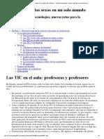 Las TIC en El Aula_ Profesoras y Profesores _ Módulo 7 - Nuevas Tecnologías, Nuevos Retos Para La Coeducación