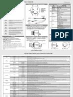 CV345 Quck Reference Manual