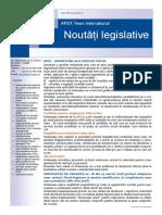 APEX Team Noutati Legislative 3 2018