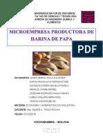 Harina de Papa Proyecto Final