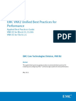 VNX2 Unified Best Practices