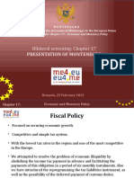 PRESENTATION - Set of Policies of Fiscal Surveillance