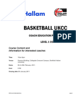 Basketball Level 1 Coach