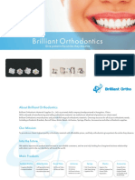 Brilliant Orthodontics - Orthodontic Material - Catalogue