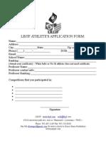 Federation Form