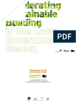 Accelerating Sustainable Building in the Local Government Sector (ASB) Project Report