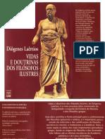 VIDAS E DOUTRINAS DOS FILÓSOFOS ILUSTRES - DIÓGENES LAÉRCIO.pdf