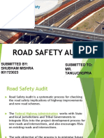 Road Safety Audit by Shubham Mishra 801723023