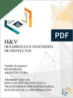 Catalogo   H&V Desarrollo e Ingeniería de Proyectos S.A.C.